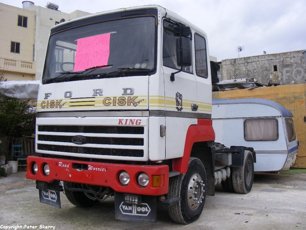 Luc102 1975 Ford Transcontinental Tractor Unit Images Of