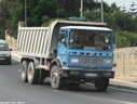 DAF505 1979 Leyland Lynx 2 6X4 Tipper plated to 20 tons.