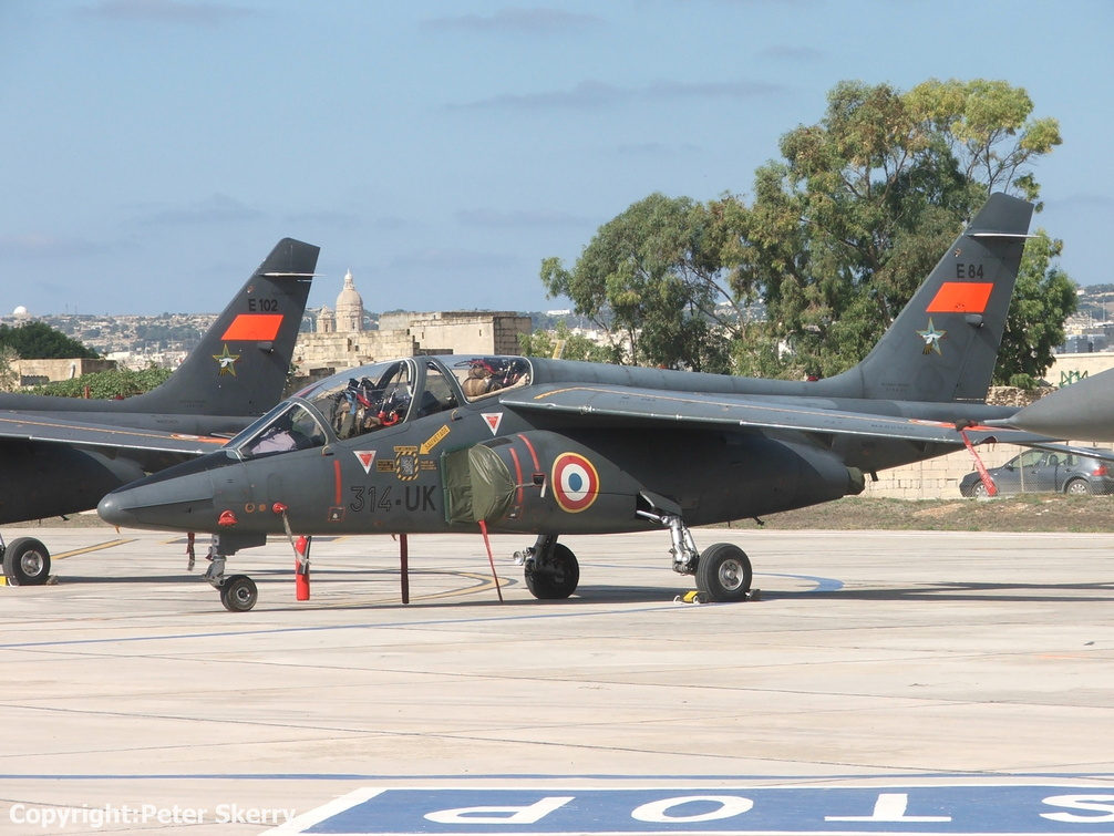 E84  Alphajet  314 Sqdn. French Air Force                   .JPG