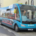 BUS 307 in UK as 2521 - YJ09 MME