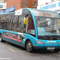 BUS 308 in UK as 2522 - YJ09 MMF