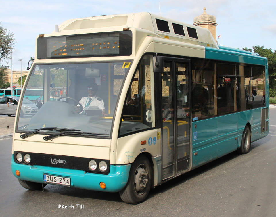 BUS 274 with Arriva title