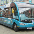 BUS 306 in UK as 2520 - YJ09 MMA