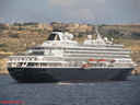 PRINSENDAM - offshore disembarking for Gozo visit - good lifeboat drill 03