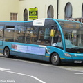 BUS 301 back in UK as YJ09 MLN