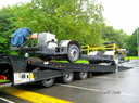 LPY 016 Chassis on way from Scania to Optare (01)