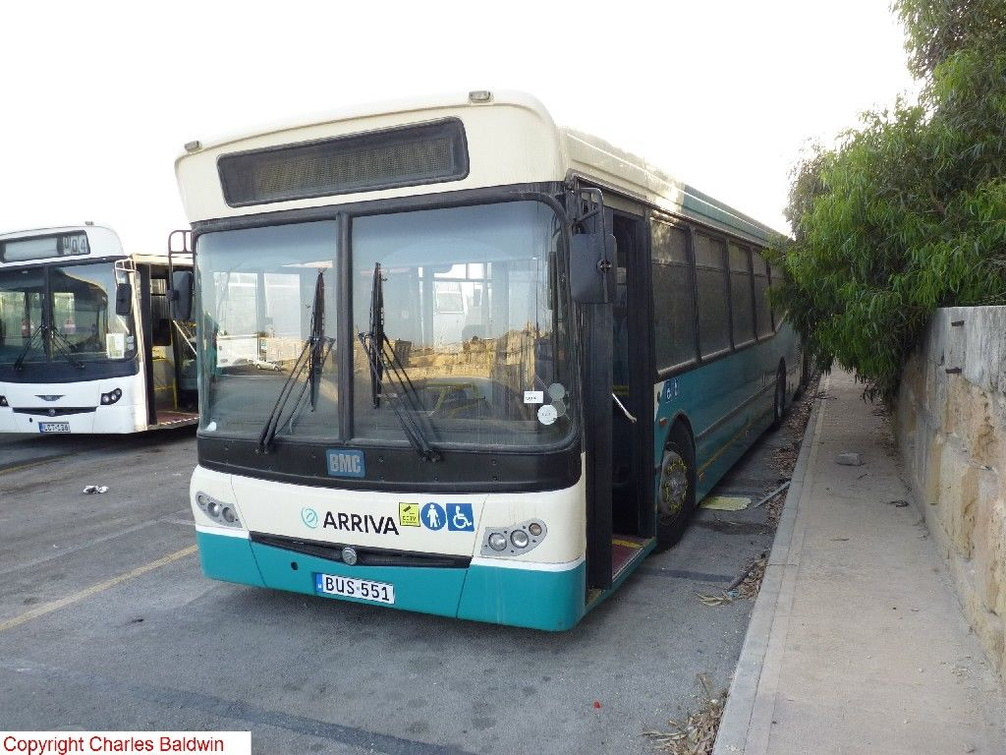 Bus 551 Ns Images Of Maltese Buses And Other Forms Of Transport In