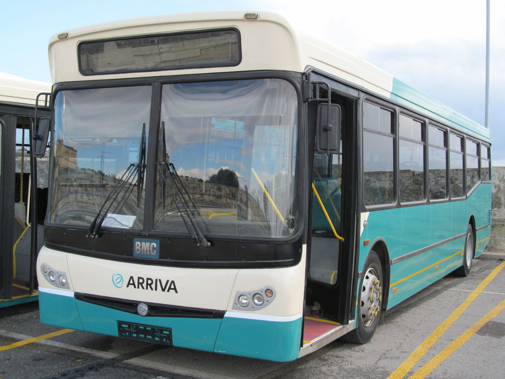 10001 as BUS 506 in Arriva livery.jpg